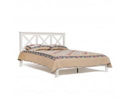 Кровать Secret De Maison FRANCESCA NEW дерево гевея, 160х200см, butter white (слоновая кость)