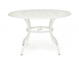 Стол Secret De Maison Salieri алюминиевый сплав, D120/H73см, butter white