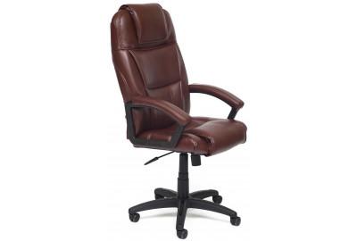 Кресло BERGAMO кож/зам, коричневый, 2 TONE
