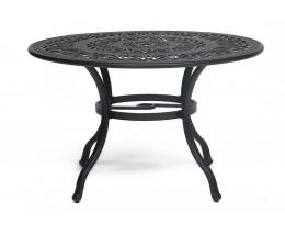 Стол Secret De Maison Salieri алюминиевый сплав, D120/H73см, черный