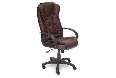 Кресло BARON ST кож/зам, Коричневый, 36-36