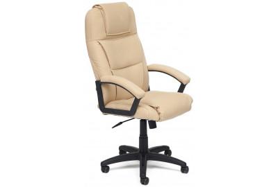Кресло BERGAMO кож/зам, бежевый, 36-34