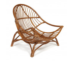 Кресло VENICE без подушки коричневый