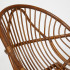 Кресло VENICE без подушки (коричневый кокос)