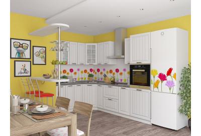 Кухонный набор мебели  Прага-03 Белое дерево